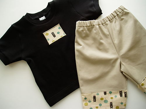 Woodland Bears Boardshorts Set