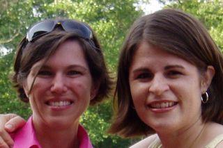 Adrienne and Ula