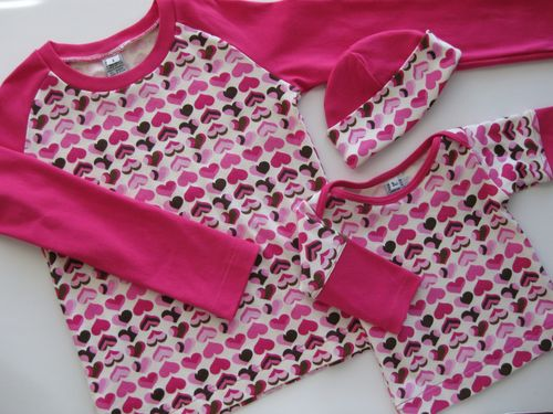 Pink Chocolate Hearts Tees