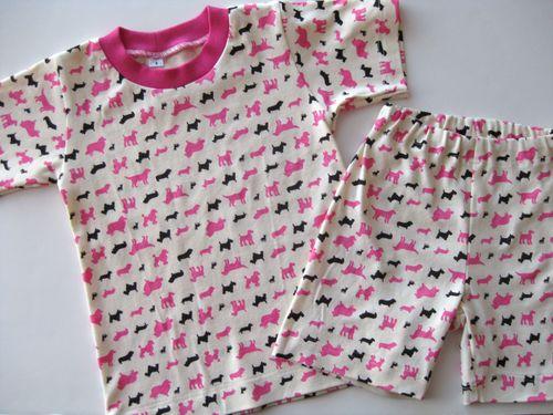 Puppy PJs Pink 6