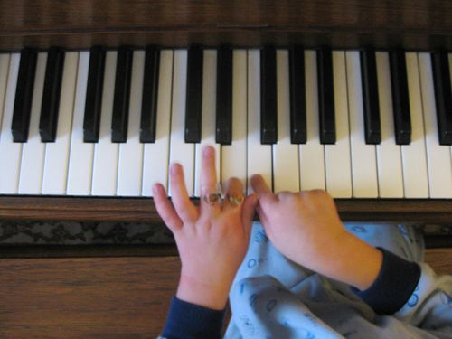 Blog - Piano and Bandaids